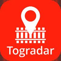 Togradar logo app for ios android